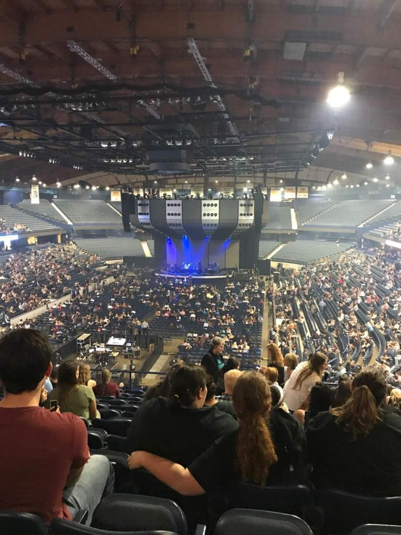 Allstate Arena Section 214 Row M Seat 11 Ed Sheeran