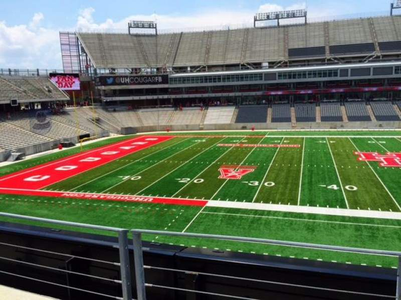 Seating view for TDECU Stadium Section 230 Row 2 Seat 9-10