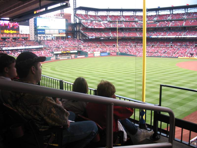 Seating view for Busch Stadium Section LP1 Row 3 Seat 19