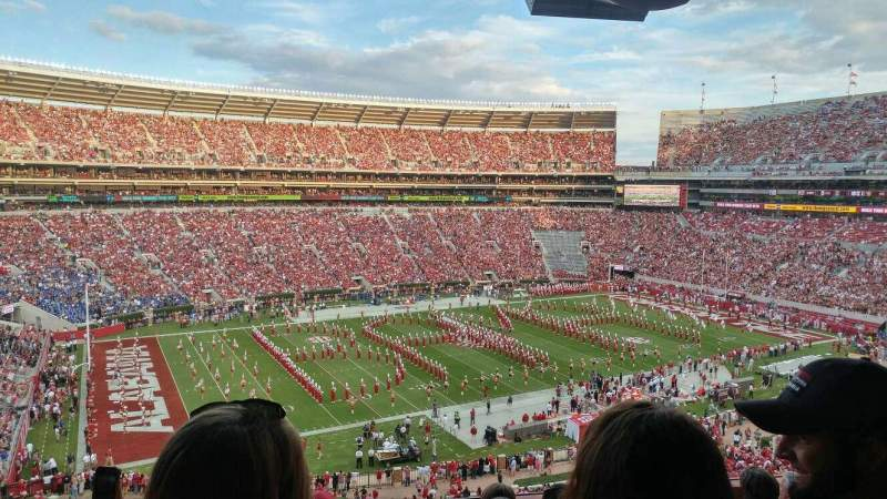 Seating view for Bryant-Denny Stadium Section U2-O Row 6 Seat 18