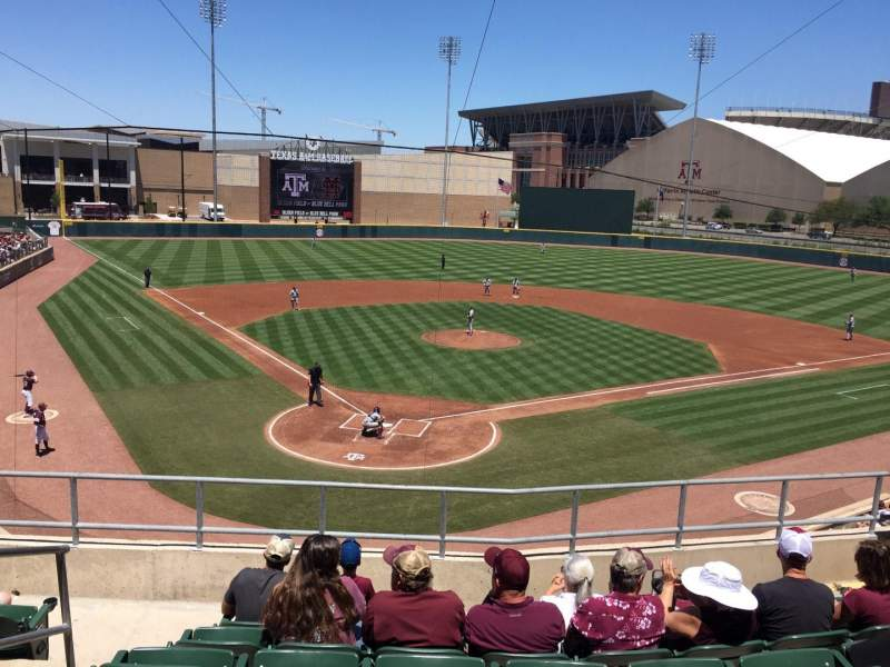 Seating view for Olsen Field At Blue Bell Park Section 205 Row 7 Seat 19
