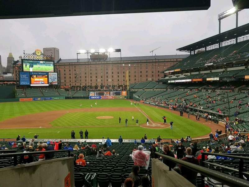 Seating view for Oriole Park at Camden Yards Section 47 Row 6 Seat 17