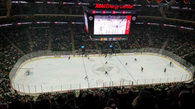 Seating view for Xcel Energy Center Section 205 Row 9 Seat 15
