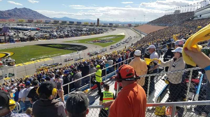 Seating view for Las Vegas Motor Speedway Section 2M Row 37 Seat 18