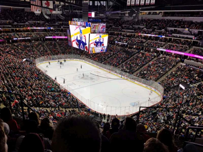 Seating view for Pepsi Center Section 370 Row 9 Seat 3