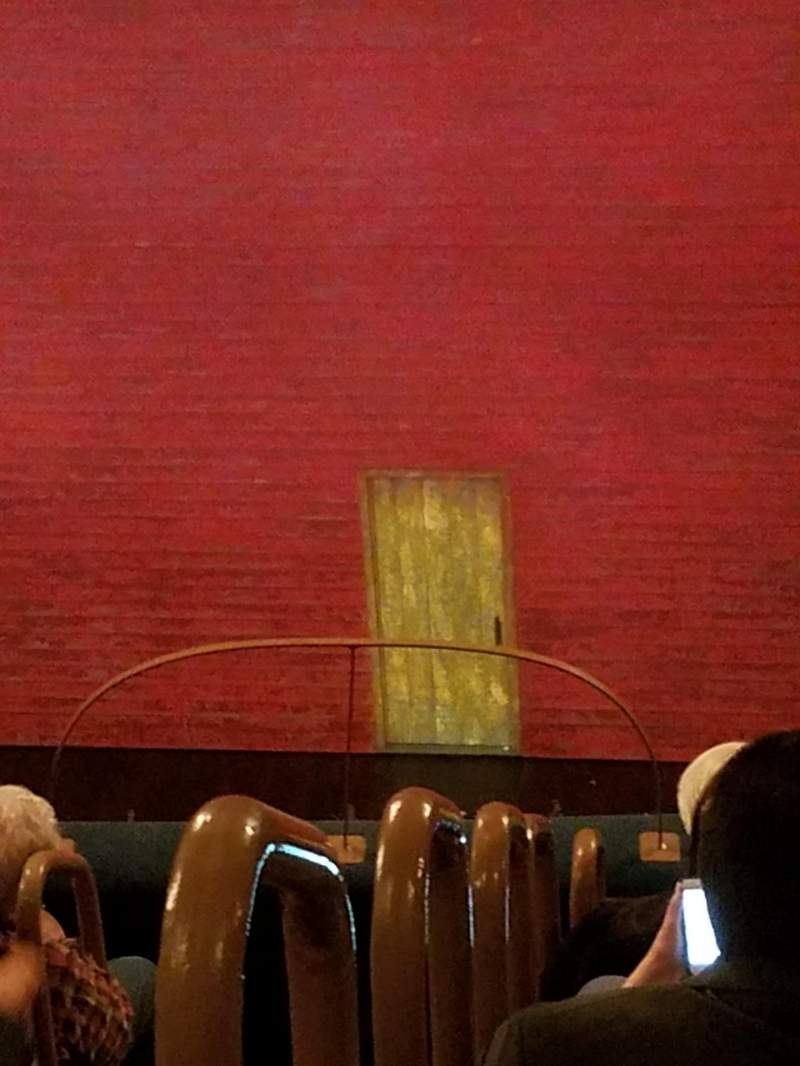 Seating view for Shubert Theatre Section Orchestra Row G Seat 2
