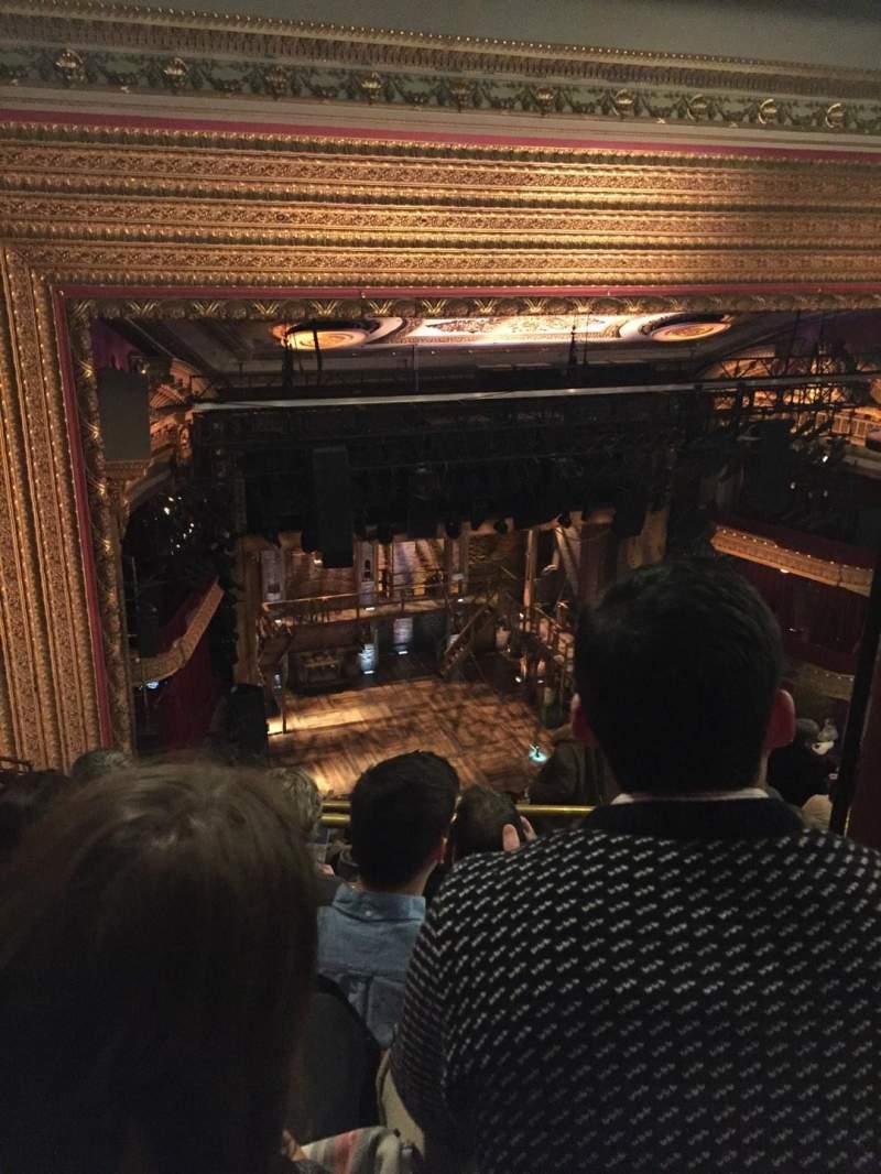 CIBC Theatre, section: Balcony L, row: L, seat: 5