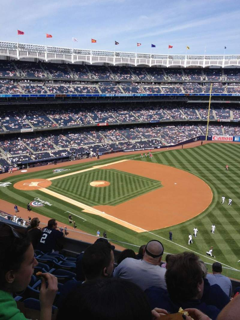 Seating view for Yankee Stadium Section 312 Row 7 Seat 5