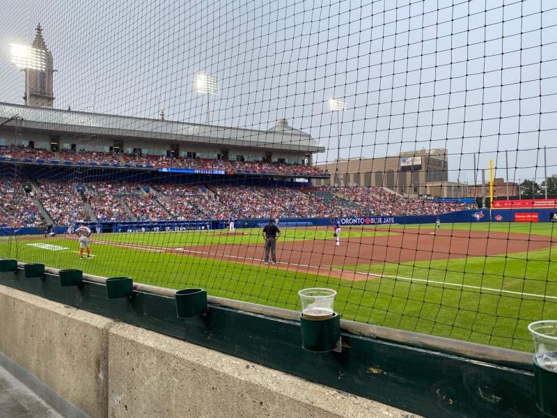 Seating view for Sahlen Field Section 118 Row C Seat 13