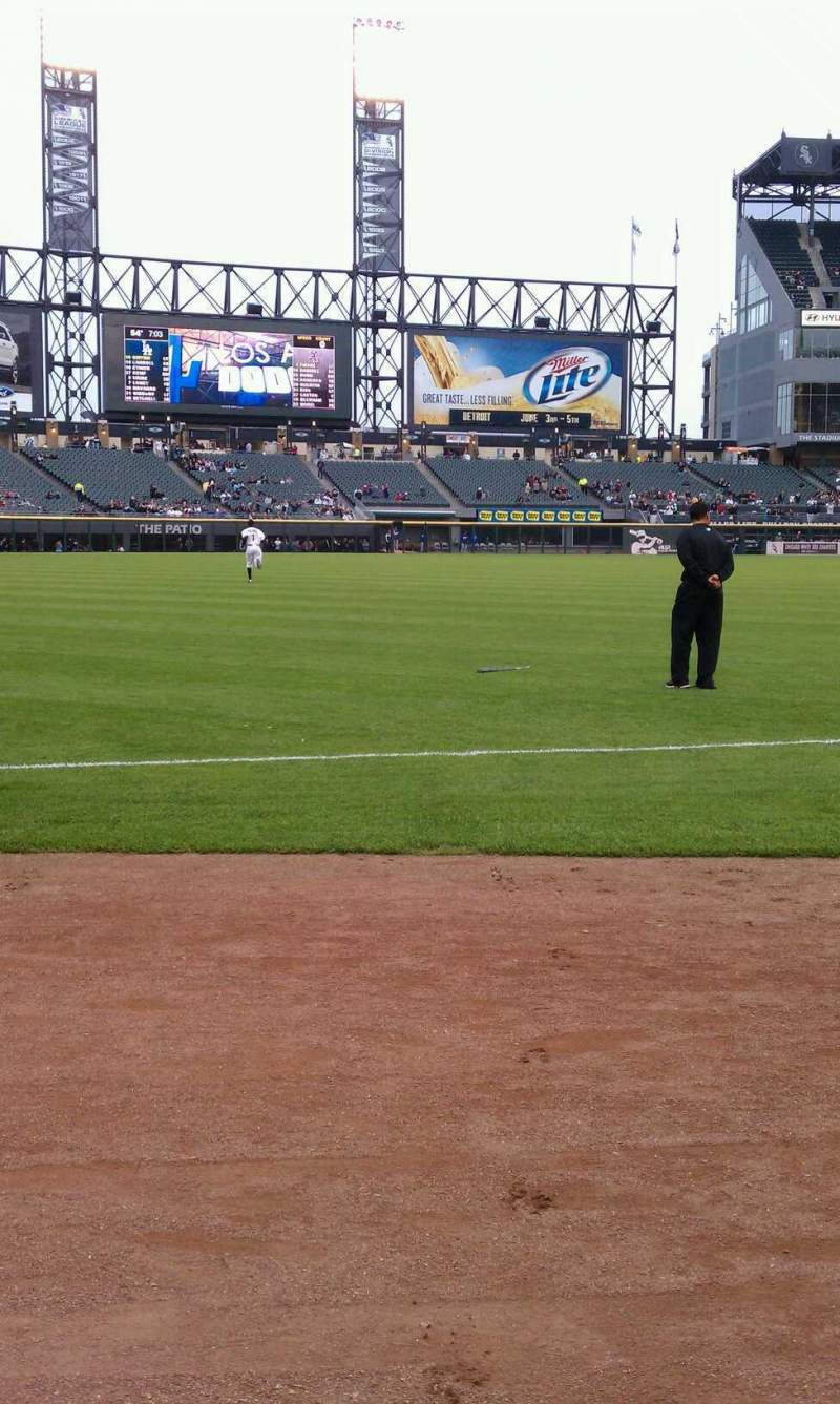 Seating view for Guaranteed Rate Field Section 148 Row 1 Seat 4