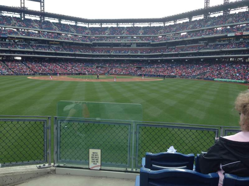 Seating view for Citizens Bank Park Section 147 Row 7 Seat 20