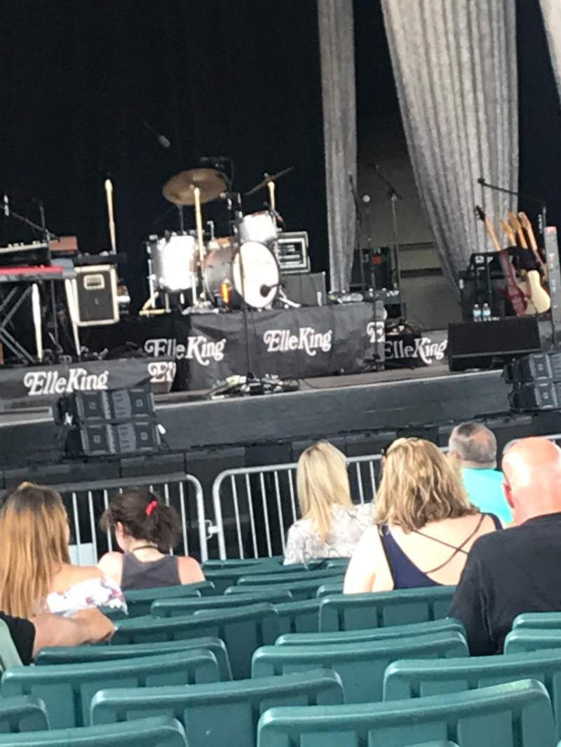 Seating view for Ruoff Home Mortgage Music Center Section A Row Y Seat 22