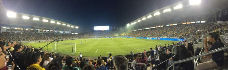 Seating view for StubHub Center Section 142 Row H