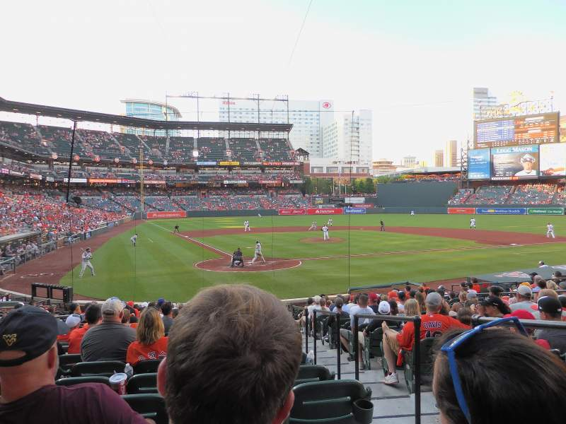 Seating view for Oriole Park at Camden Yards Section 32 Row 19 Seat 2