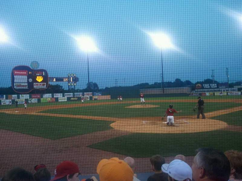 Seating view for Herschel Greer Stadium Section n Row 7 Seat 11