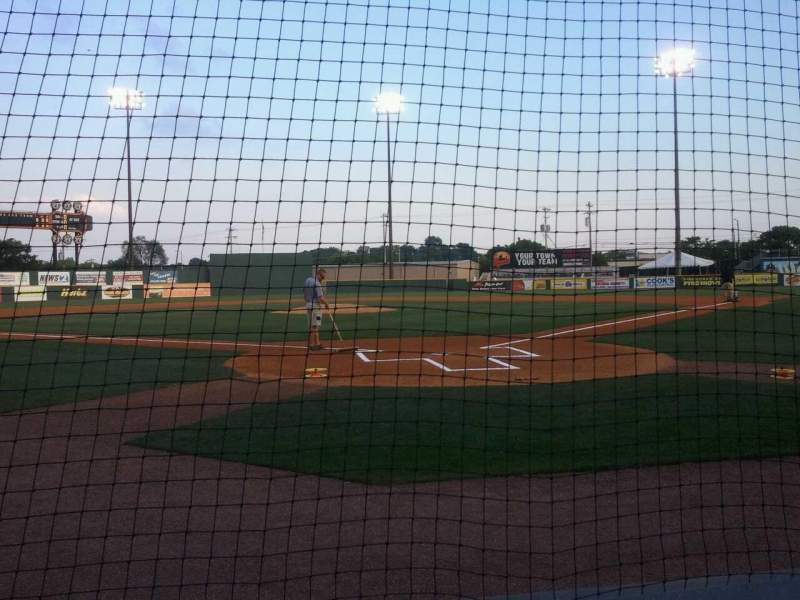 Seating view for Herschel Greer Stadium Section N Row 3 Seat 9