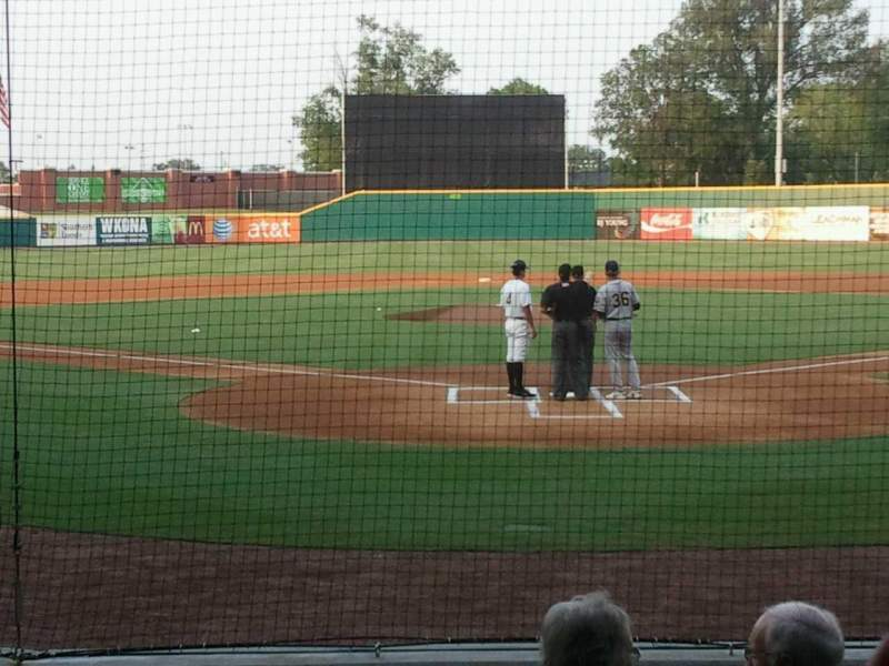 Seating view for Bowling Green Ballpark