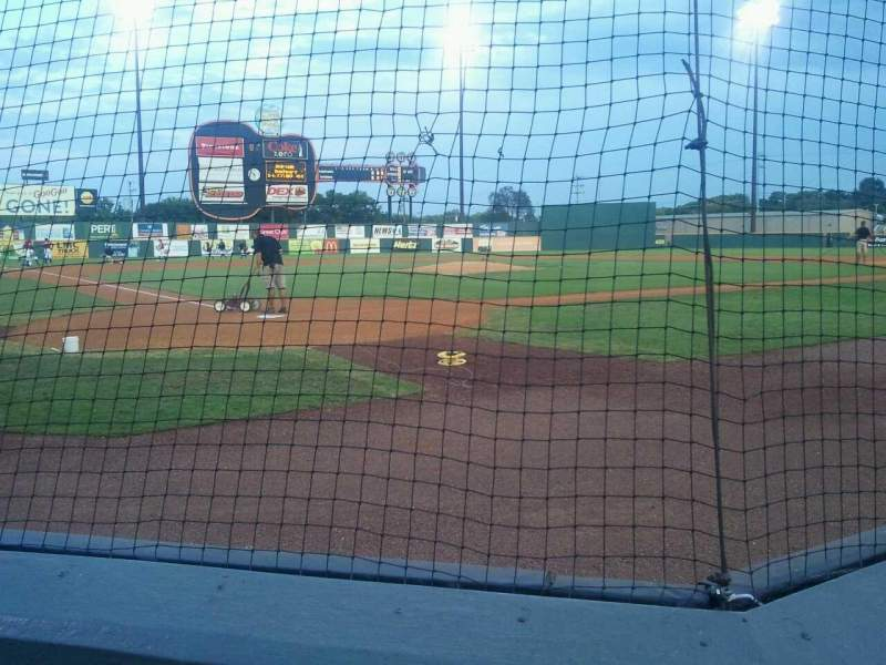 Seating view for Herschel Greer Stadium Section M Row 3 Seat 9