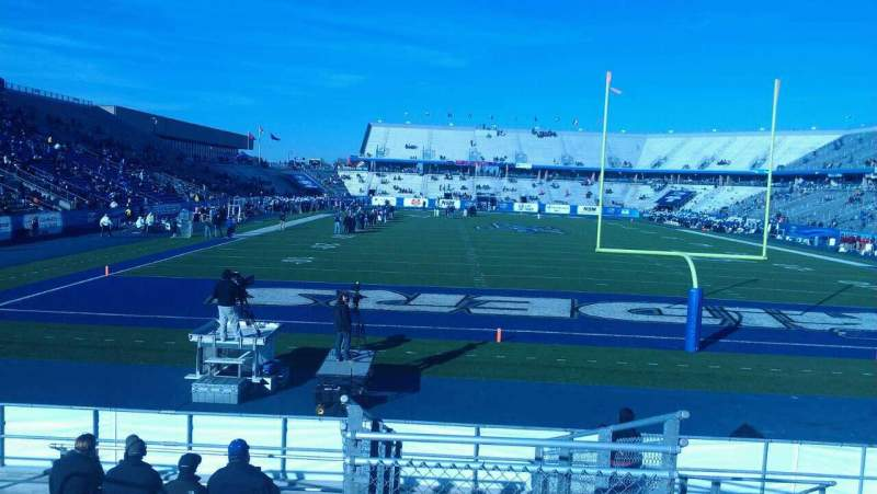 Seating view for Johnny Red Floyd Stadium Section 1M Row 17 Seat 11