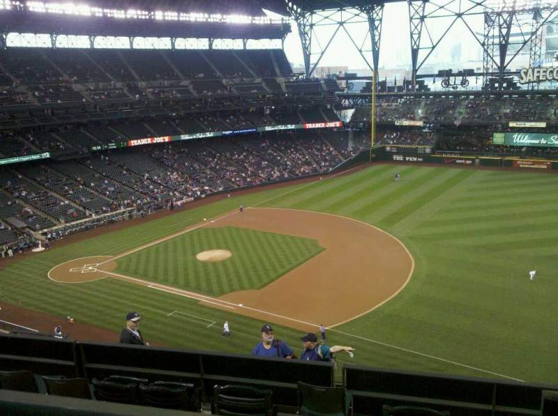 Seating view for Safeco Field Section 318 Row 10 Seat 11