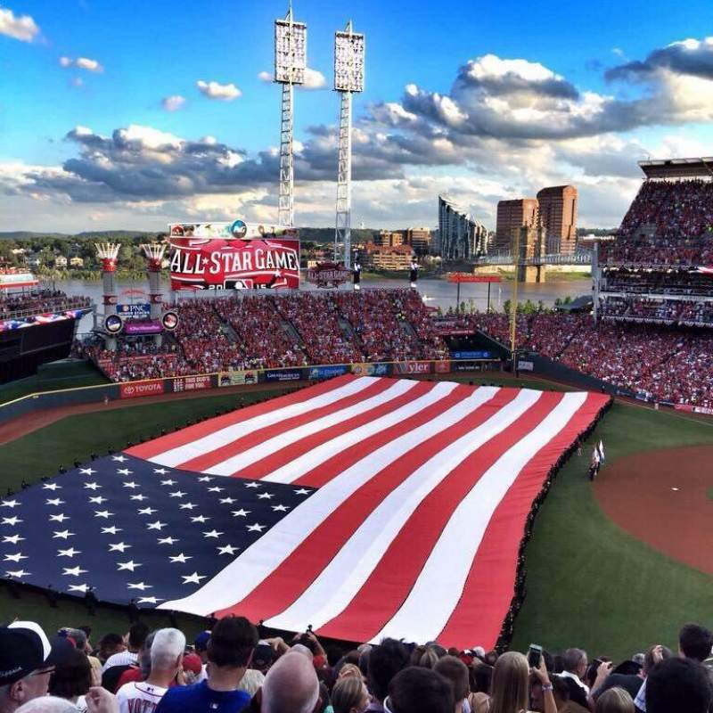 Seating view for Great American Ball Park Section 411