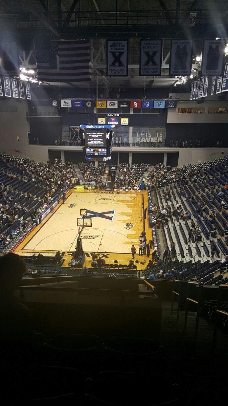 Seating view for Cintas Center Section 202