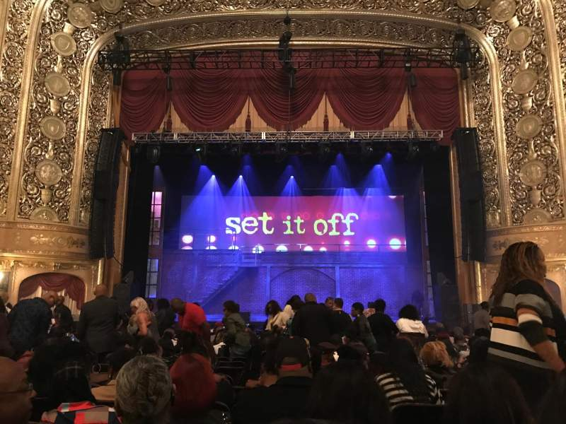 Seating view for Warner Theatre (Washington, D.C.) Section Orch Row Q Seat 113