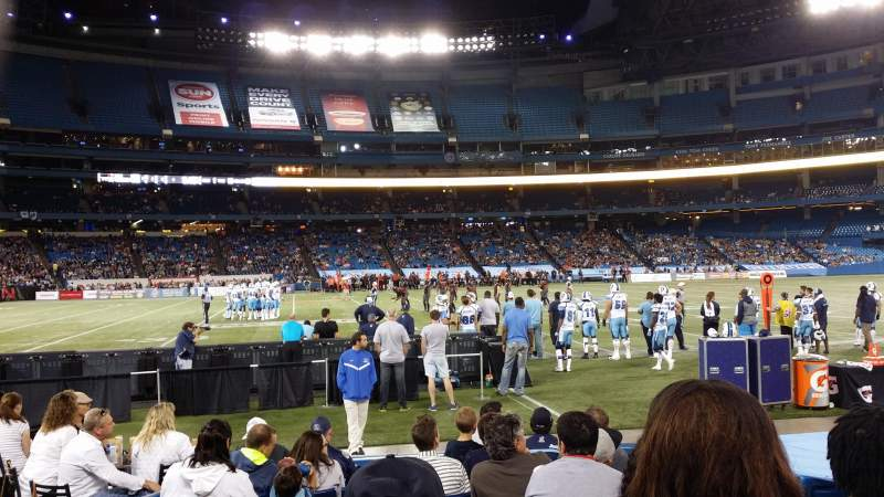 Seating view for Rogers Centre Section 112 Row 10 Seat 104
