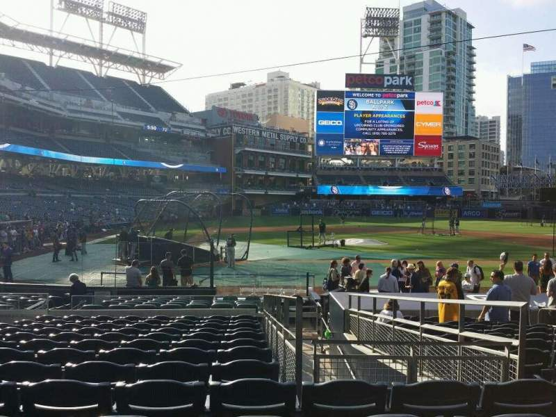 Seating view for PETCO Park Section 105 Row 20 Seat 8