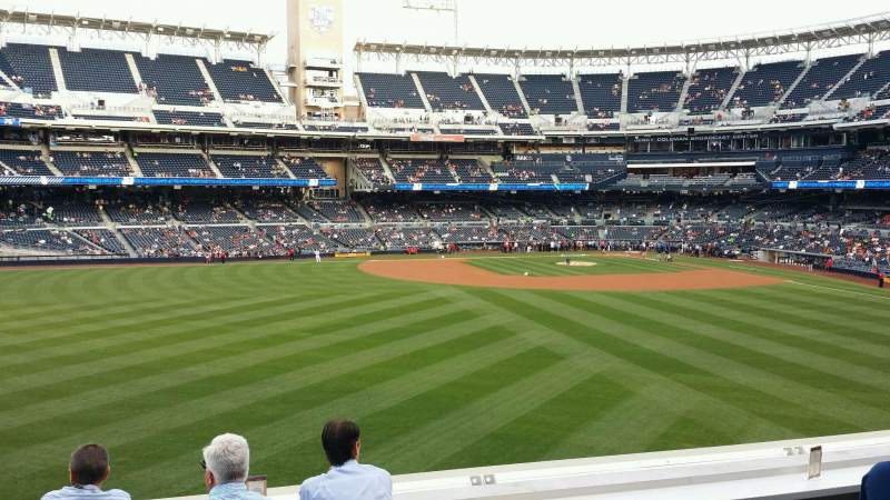 Seating view for PETCO Park Section 230 Row 5 Seat 19