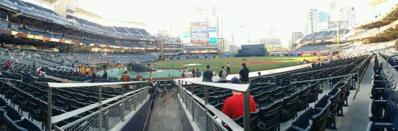 Seating view for PETCO Park Section 105 Row 16 Seat 10