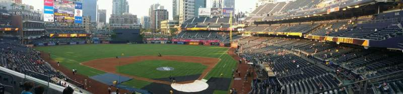 Seating view for PETCO Park Section 202 Row 4 Seat 10
