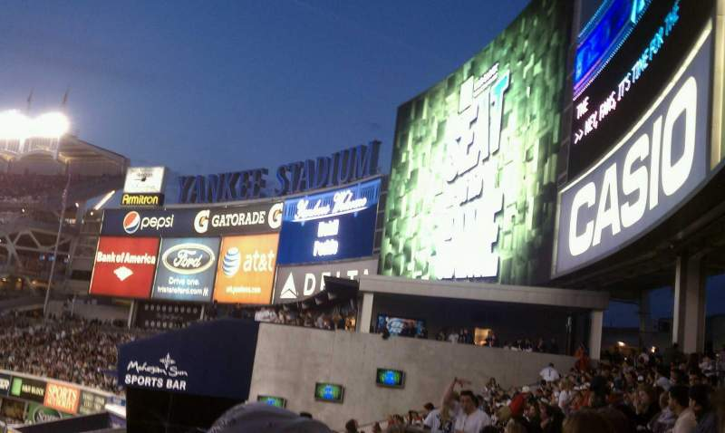 Seating view for Yankee Stadium Section 207