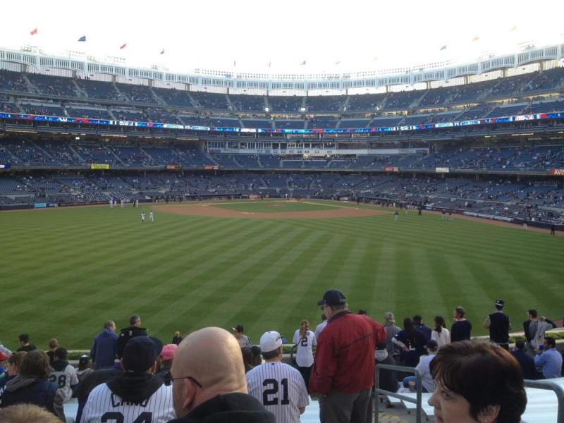 Seating view for Yankee Stadium Section 239 Row 15 Seat 4