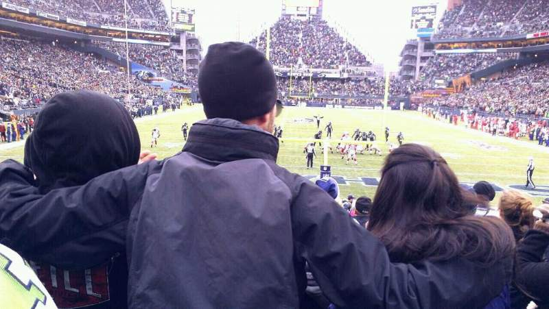 Seating view for CenturyLink Field Section 122 Row N Seat 16