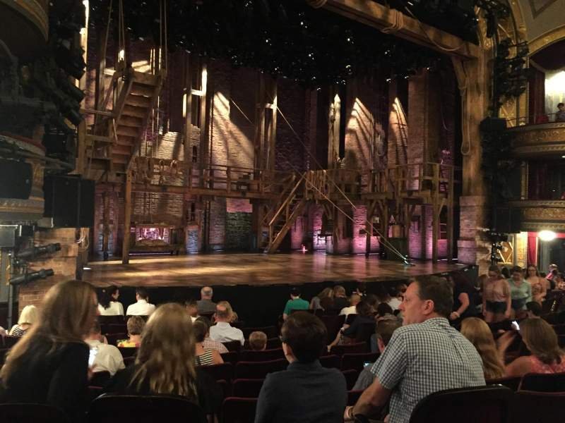Seating view for Richard Rodgers Theatre Section Orchestra L Row L Seat 19