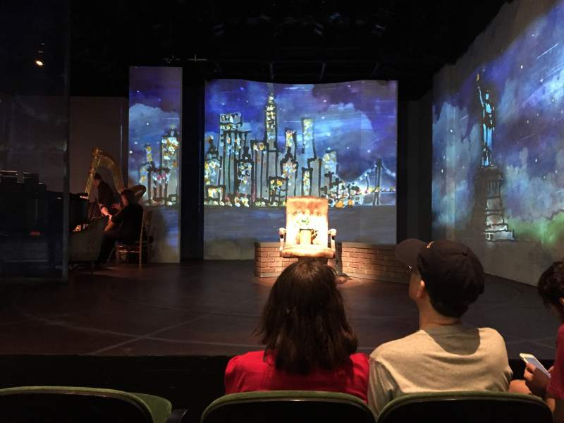 Seating view for The Irish Repertory Theater Section Orchestra Center Row C Seat 4
