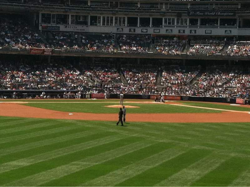 Seating view for Yankee Stadium Section 238 Row 1 Seat 11