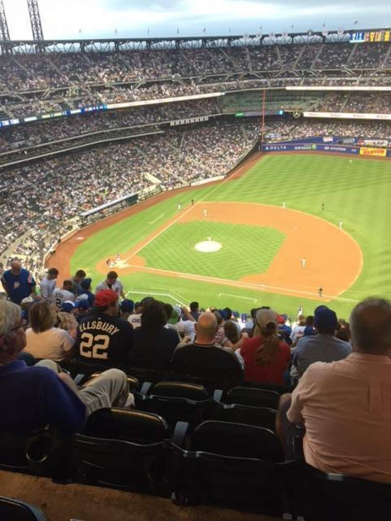Seating view for Citi Field Section 506 Row 17 Seat 11