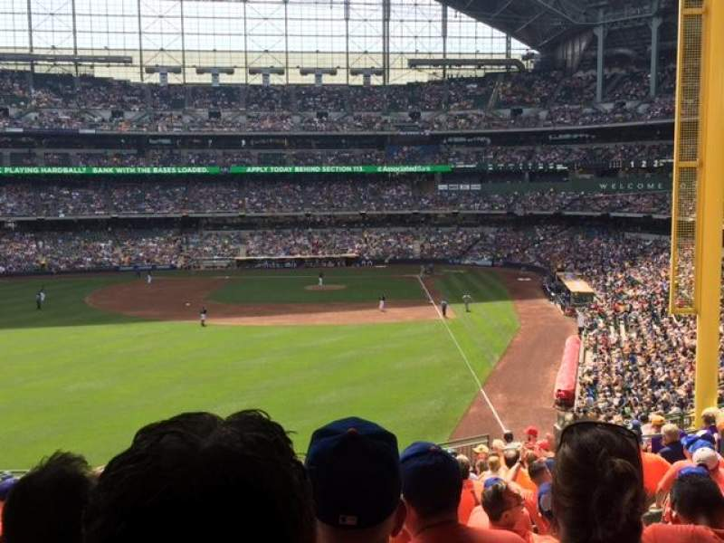 Seating view for Miller Park Section 235 Row 18 Seat 11