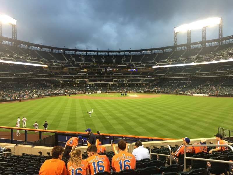 Seating view for Citi Field Section 141 Row 15 Seat 19