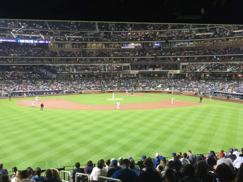 Seating view for Citi Field Section 138 Row 19 Seat 4
