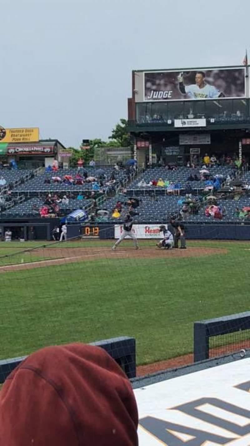 Seating view for Arm & Hammer Park Section 119 Row D Seat 4