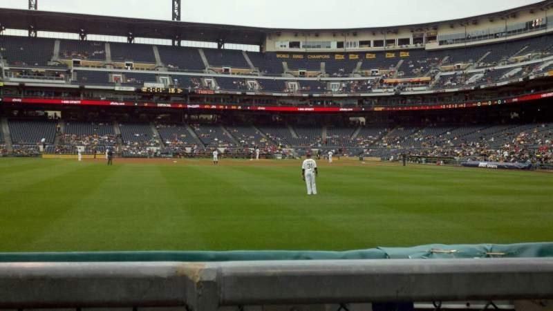 Seating view for PNC Park Section 136 Row A Seat 13