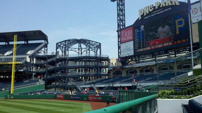Seating view for PNC Park Section 139 Row A Seat 17