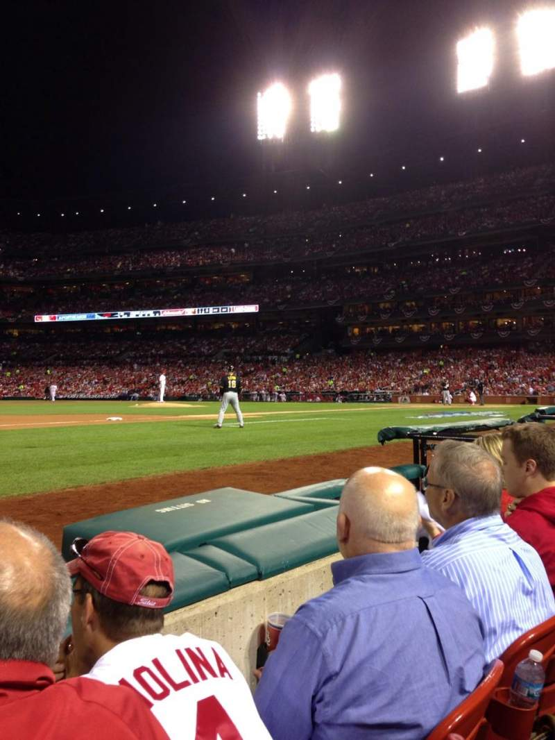 Seating view for Busch Stadium Section 159 Row B Seat 7