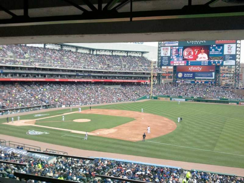 Seating view for Comerica Park Section Suite 102