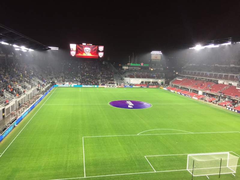 Seating view for Audi Field Section 119 Row 25 Seat 1-2