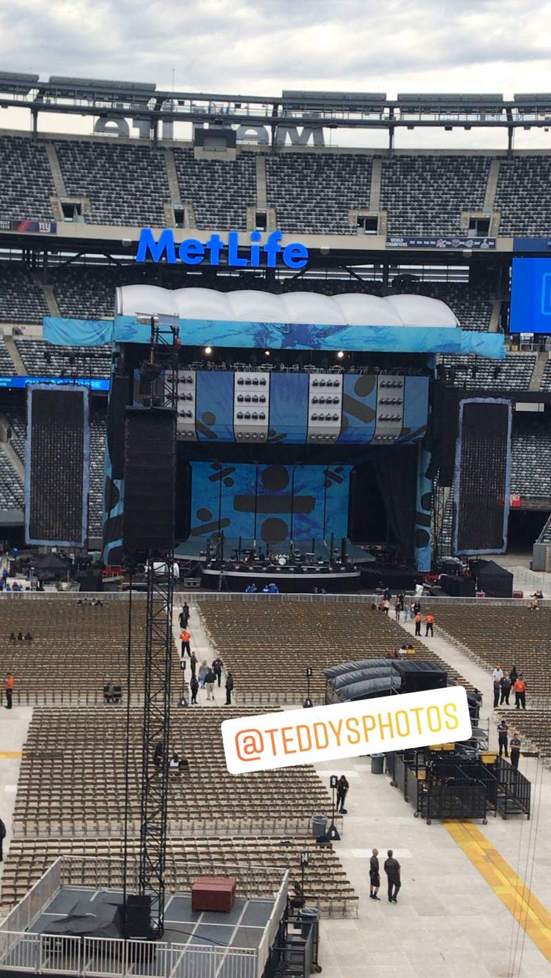 Seating view for MetLife Stadium Section 228A Row 2 Seat 7