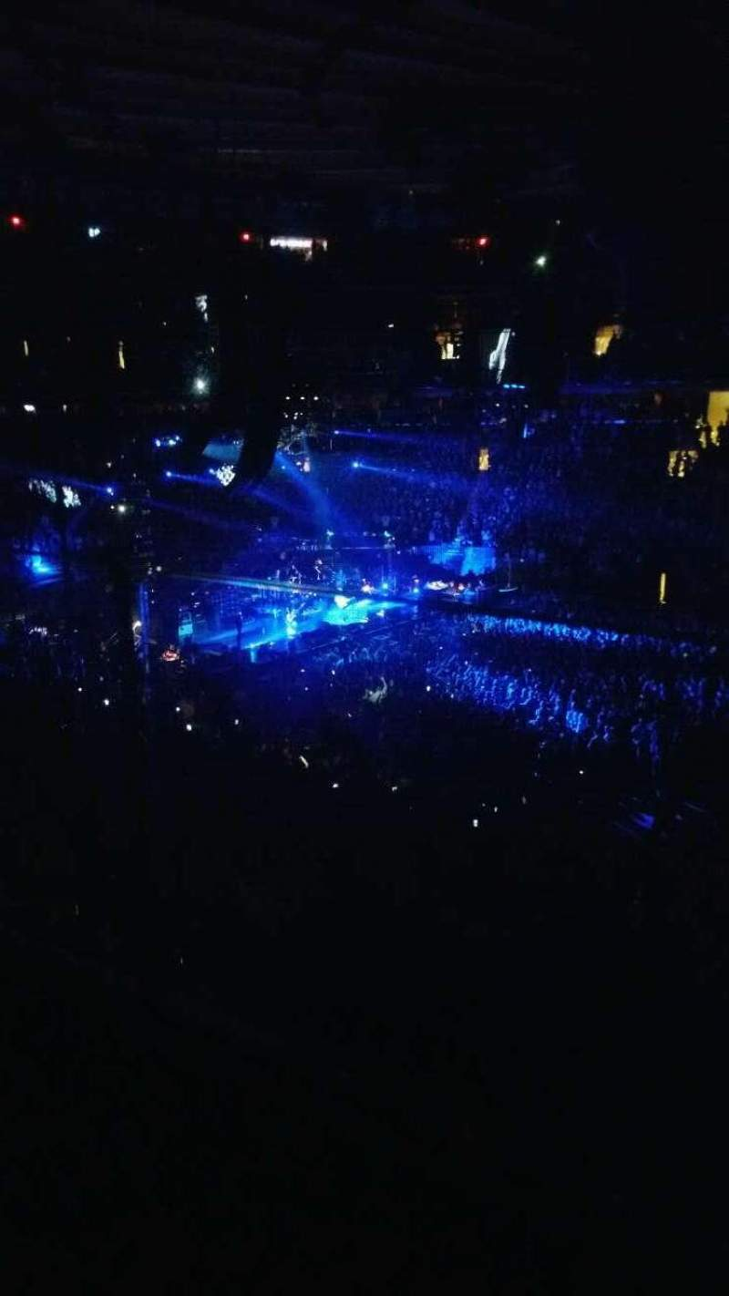 Seating view for Madison Square Garden Section 225 Row 1 Seat 12